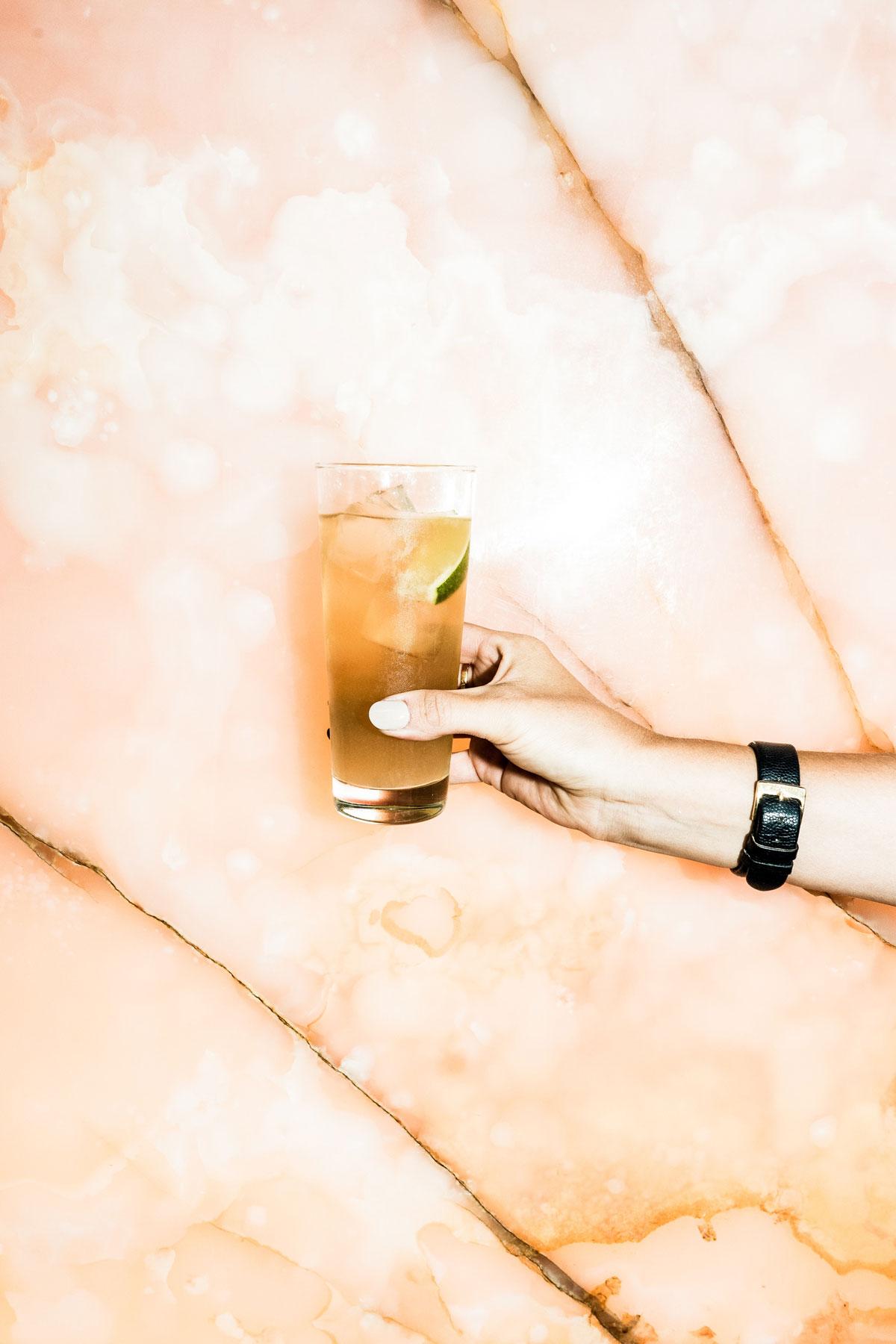 Versa Bar Bern Ingwer-Limetten Schorle