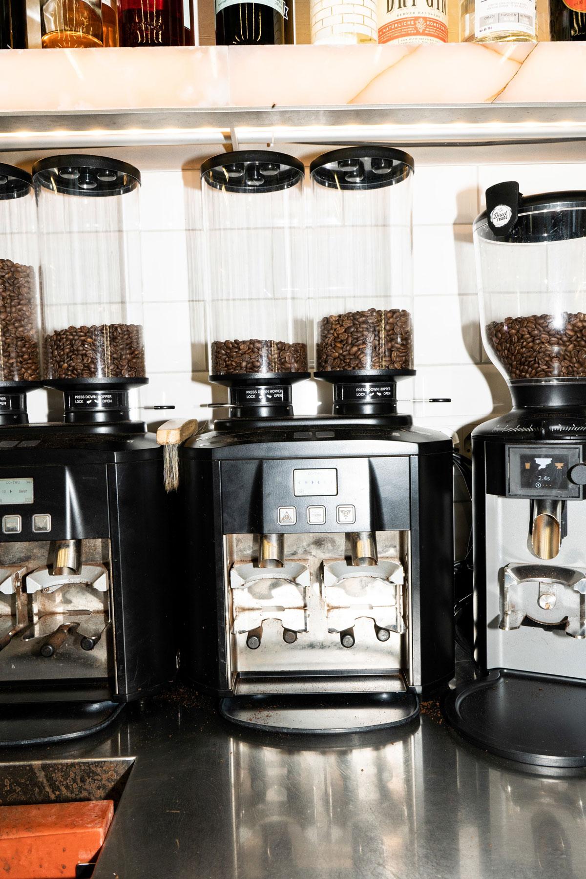 Versa Bar Bern Kaffeemühlen